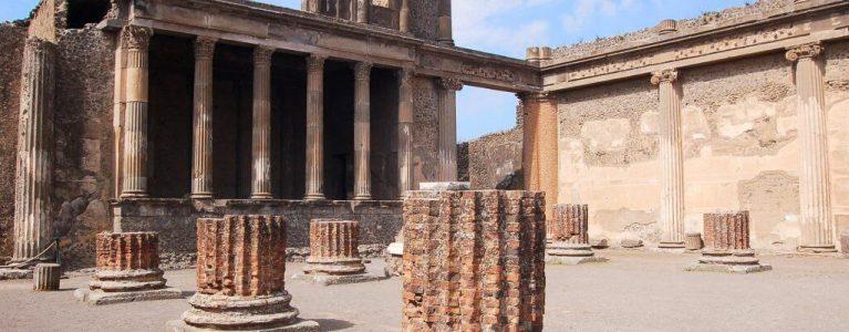 Roman basilica at Pompeii