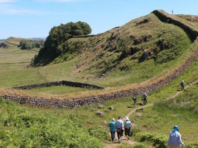 walking hadrians wall