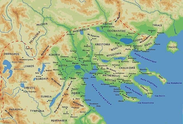 Pella Greece Map.Macedonia Visiting Alexander The Great At Home Peter Sommer Travels