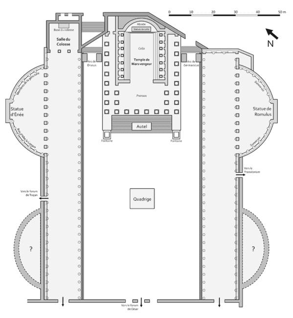 Perfect Forum Augusti plan