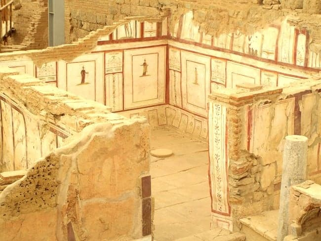 A slice of roman city life terrace house 2 at ephesus for Terrace house 2