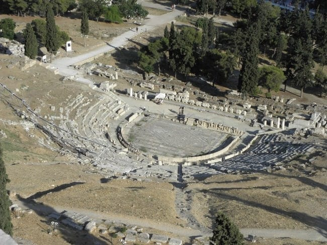 history of theater starting from its origins in greece Masks masks served several important purposes in ancient greek theater: their  exaggerated expressions helped define the characters the actors were playing.